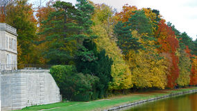 сад chantilly замока Стоковые Фото