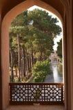 Сад Dowlat Abad в Yazd, Иране стоковые изображения rf