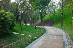 сад footpath стоковые изображения rf