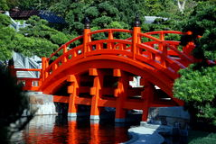 сад Hong Kong lian nan моста Стоковые Фото