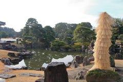 Сад Ninomaru замка Nijo Стоковые Фотографии RF
