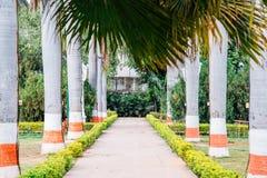 Сад Saheliyon Ki Бари девушек в Udaipur, Индии стоковое фото