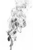 Сажа. Черный дым. Стоковые Изображения RF