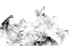 Сажа. Черный дым. Стоковое Изображение