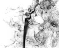Сажа. Черный дым. Стоковая Фотография RF