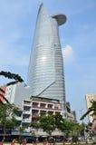 Сайгон, Вьетнам, 20-ое января 2015 Башня Bitexco в Сайгоне Стоковое Изображение RF