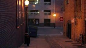 Сакраменто городское на ноче видеоматериал