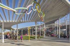 САКРАМЕНТО, США 13-ое ноября 2016; Музей изобразительных искусств Shrem на кампусе UC Davis Стоковые Фотографии RF