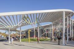 САКРАМЕНТО, США 13-ое ноября 2016; Музей изобразительных искусств Shrem на кампусе UC Davis Стоковое Фото
