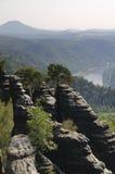 Саксония Швейцария Стоковые Фотографии RF
