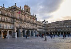 Саламанка, Кастилия y Леон, Испания стоковое изображение