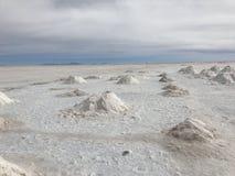 Салар в Uyuni Боливия, Южная Америка Стоковое фото RF