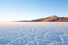 Салар de Uyuni, взгляд Cerro Tunupa Стоковое Изображение RF
