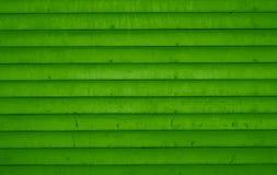 Салатовая деревянная предпосылка планок Стоковая Фотография RF