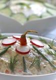салаты вкусные 2 Стоковые Фотографии RF
