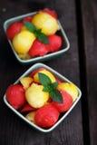 Салат арбуза Стоковая Фотография