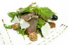 салат ветчины Стоковые Изображения RF