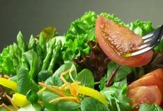 салат вилки свежий Стоковое Изображение RF