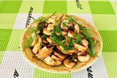 салат гриба Стоковые Фотографии RF