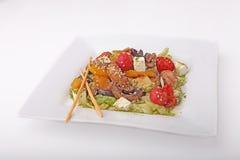 салат грибов feta сыра Стоковое Изображение