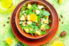 салат диетпитания естественный Стоковое Изображение RF