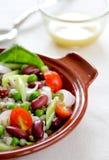 салат зерен фасоли стоковые изображения