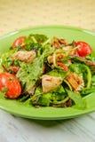 Салат из курицы смешивания весны стоковая фотография rf