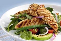 салат из курицы теплый Стоковые Фотографии RF