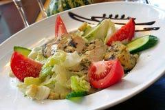 салат из курицы цезаря Стоковые Фотографии RF