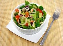 салат корзины смешанный Стоковая Фотография