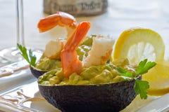 салат креветки Стоковое Фото