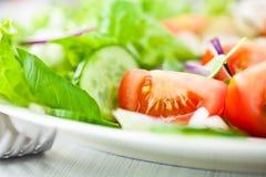 салат крупного плана вкусный Стоковые Изображения RF