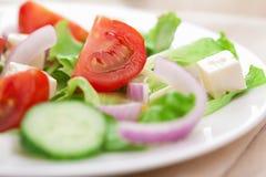 салат крупного плана свежий Стоковое Фото