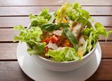 салат крупного плана цветастый вкусный Стоковое фото RF