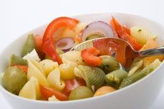 салат лапши Стоковая Фотография RF