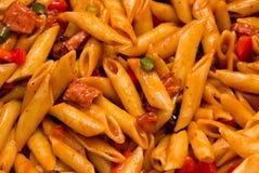 Салат макаронных изделий BBQ Стоковые Фото
