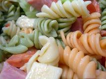 салат макаронных изделия Стоковые Фото