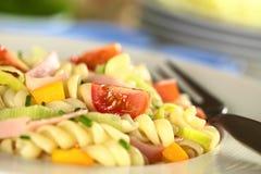 салат макаронных изделия Стоковая Фотография RF