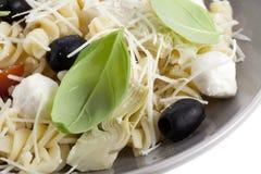 салат макаронных изделия fuslli Стоковое Фото