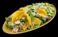 салат мангоа цыпленка стоковое изображение rf
