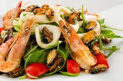 Салат морепродуктов Стоковые Изображения RF