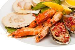 Салат морепродуктов Стоковые Фото