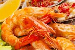 Салат морепродуктов Стоковое фото RF