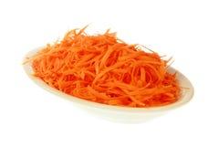 Салат морковей Julienne Стоковые Фотографии RF