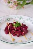 салат мустарда свекл Стоковое фото RF