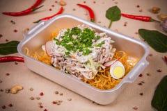 Салат мяса и редиски Стоковое Фото