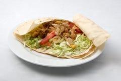 салат мяса Стоковая Фотография