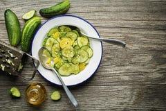 Салат огурца стоковые фотографии rf