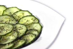 салат огурца Стоковые Изображения