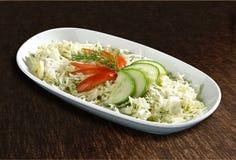 салат огурцов капусты Стоковые Фото